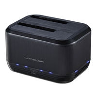 LC-Power HDD Docking Station USB 3.0, 2x 2,5